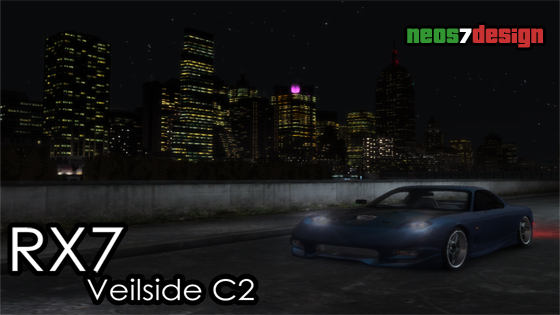 gtaarea download gta iv cars mazda rx7 veilside c2 高清图片